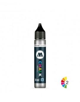 tiza liquida Molotow Chalk metalizados 30ml