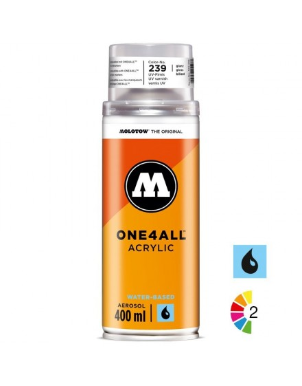 spray de barniz UV acrilico Molotow One4all