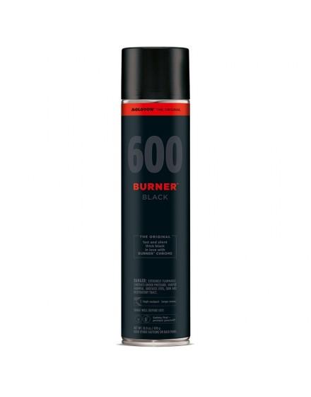 Spray de pintura Molotow Burner Black 600ml
