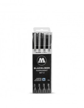 Pack rotuladores Blackliner Molotow x4 - Set 2