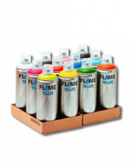 Pack Flame Blue 400ml x12