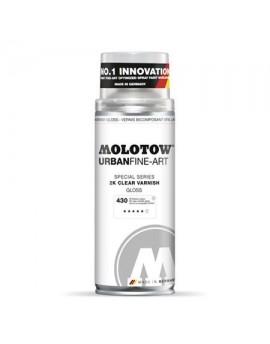 Barniz de Poliuretano en Spray 2k Molotow UFA 400ml