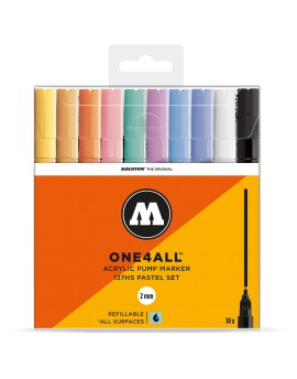 pack rotuladores acrilicos One4all 127hs pastel set 10