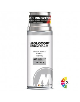 pintura en spray cromada Molotow UFA