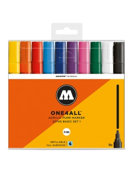 10 rotuladores acrilicos molotow one4all 227hs set1