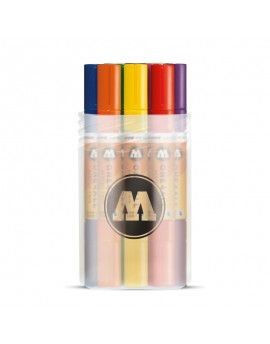 pack rotuladores acrilicos twin marker molotow doble punta