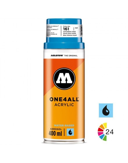 spray pintura acrilica molotow one4all