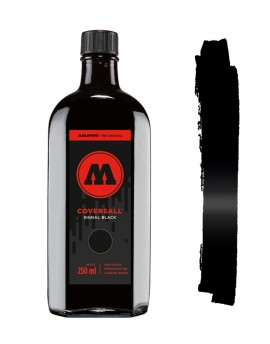 Tinta Permanente Negra Coversall Cocktail 250ml