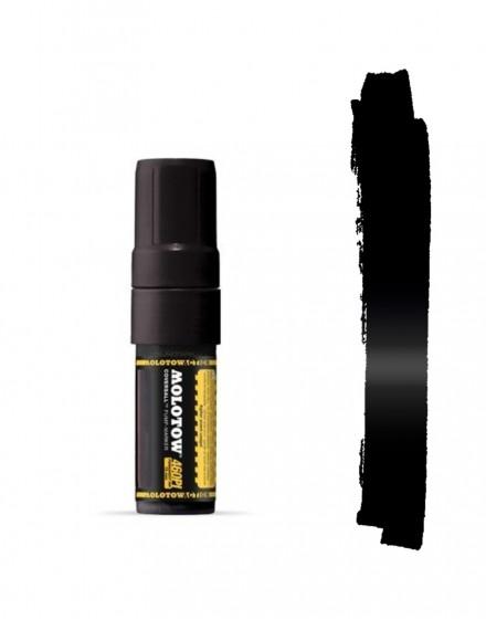 Rotulador permanente negro Molotow Masterpiece 460PI 15mm