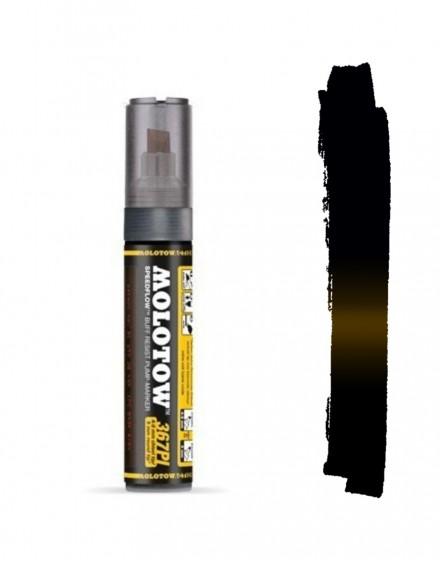 rotulador permanente negro molotow 367PI