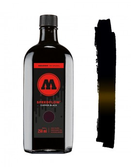 Tinta Permanente Negra Speedflow Cocktail 250ml