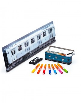 pack one4all 127 -train stell box+train 3d pequeño""