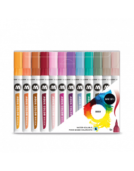 Pack 12 rotuladores acuarelables Aqua Color Brush