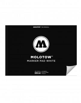molotow black pad DIN A4 hojas negras