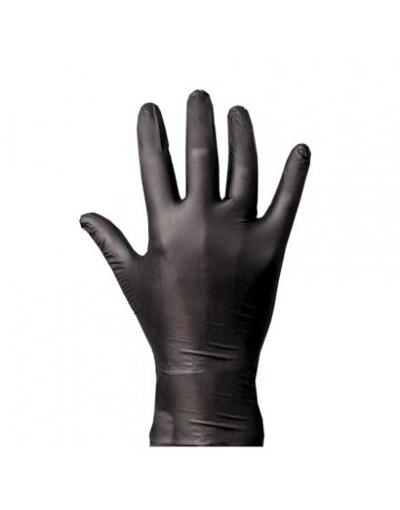 Guantes de nitrilo negros Molotow