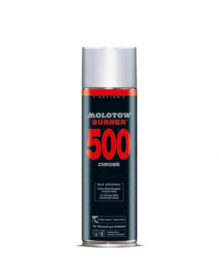 spray metalizado Burner Molotow 500ml