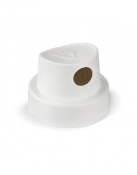 Cap trazo medio - Original Cap White/ Brown ~  2,5 cm